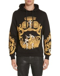 Versace Baroque Print Hooded Sweatshirt