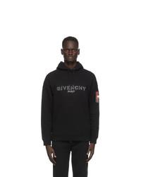 Givenchy Black Logo Hoodie