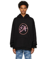 Vetements Black No Time For Romance Hoodie
