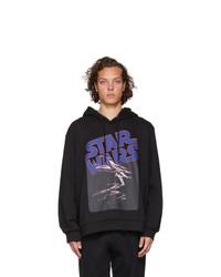 Etro Black Star Wars Edition X Wing Hoodie