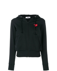 Comme Des Garcons Play Comme Des Garons Play Logo Patch Hoodie