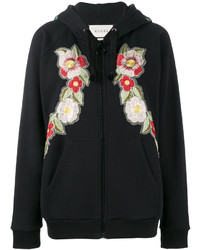 Gucci Fake Rose Embroidered Hoodie