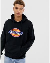 Dickies Nevada Hoodie With Large Logo In Black
