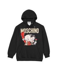 Moschino Porky Petunia Pig Graphic Hoodie