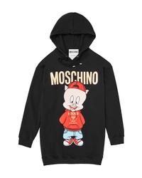 Moschino Porky Pig Graphic Hoodie
