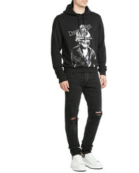 DSQUARED2 Printed Cotton Hoody