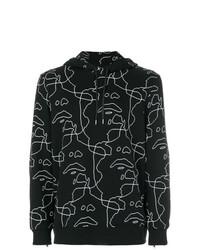 Neil Barrett Siouxsie Printed Hoodie