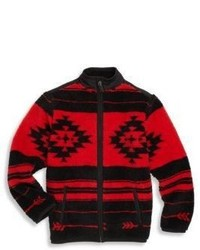 Ralph Lauren Boys Fleece Printed Jacket