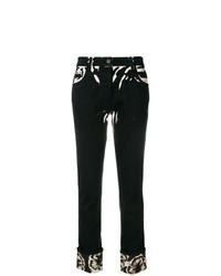 Prada Hibiscus Printed Jeans