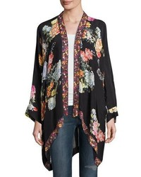 Johnny Was Jazzy Kimono Style Printed Jacket Plus Size