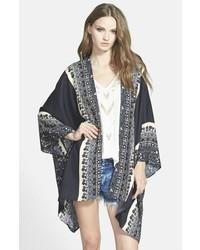 Leith Print Kimono
