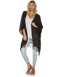 Billabong Salty Wavez Cover Up Kimono