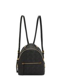 Fendi Black Mini Forever Backpack