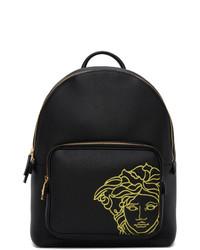Versace Black Pop Medusa Backpack