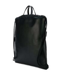 a027181fa52e78 Gucci Ghost Drawstring Backpack, $1,662   farfetch.com   Lookastic.com