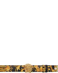 Versace Black Gold Le Pop Classique La Medusa Belt