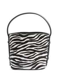 Topshop Samira Calf Hair Bucket Bag