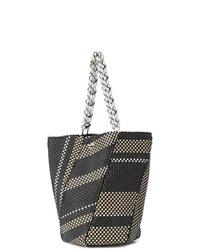 Proenza Schouler Woven Medium Hex Bucket Bag