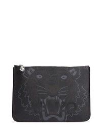 Icon leather pouch clutch medium 8685602