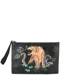 Tiger print clutch bag medium 3677628