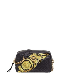 Versace Baroque Icon Quilted Leather Camera Bag