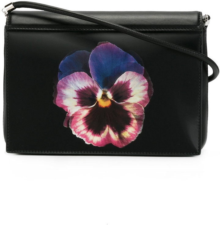 345bf51b9b370e Christopher Kane Pansy Print Crossbody Bag, $715 | farfetch.com ...