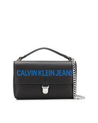 Calvin Klein Jeans Contrast Logo Shoulder Bag