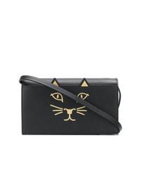 Charlotte Olympia Feline Clutch Bag