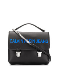 Calvin Klein Jeans Foldover Top Shoulder Bag