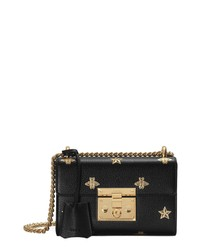 Gucci Mini Padlock Leather Shoulder Bag