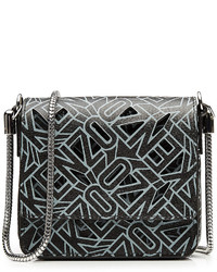 Kenzo Printed Leather Shoulder Bag