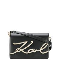 Karl Lagerfeld Signature Shoulder Bag