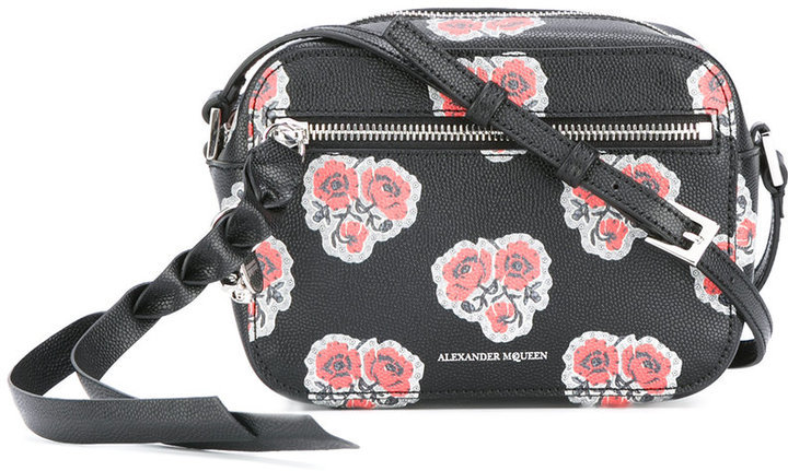 Alexander McQueen Skull Camera Crossbody Bag