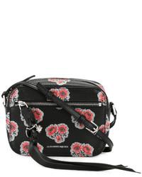 Skull poppy print camera shoulder bag medium 4105348