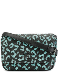 Vivienne Westwood Anglomania Leopard Print Crossbody Bag