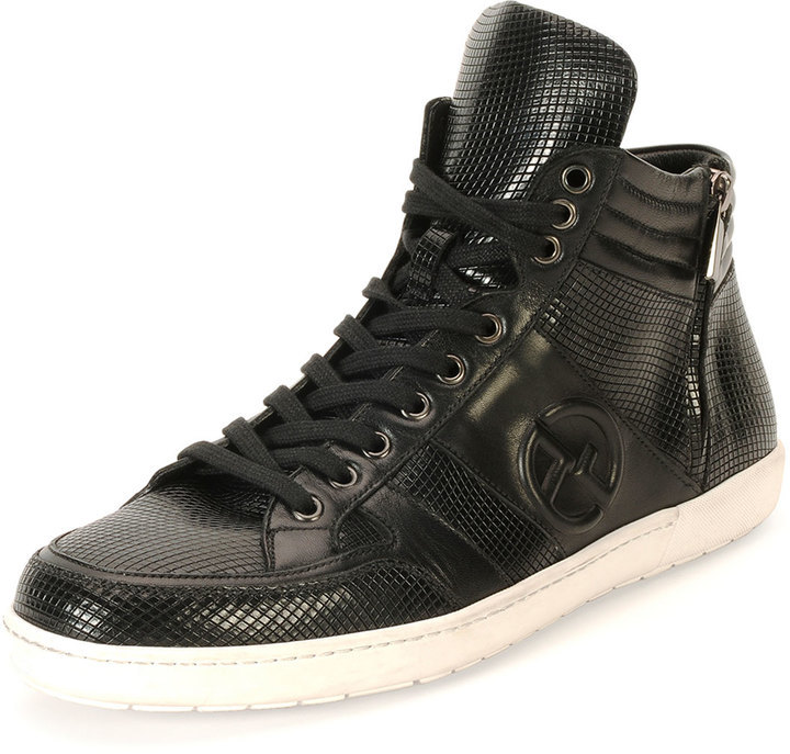 New Styles Online Low Cost Sale Online FOOTWEAR - High-tops & sneakers Emporio Armani Cheap Sale Get Authentic Fashionable Cheap Online Shop Offer bdeDhR