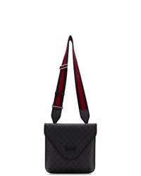Gucci Black Gg Supreme New Messenger Bag