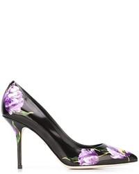 Dolce & Gabbana Tulip Print Pumps