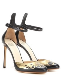 Francesco Russo Printed Leather Pumps