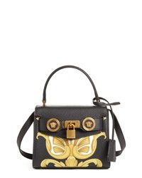 Versace Mini Icon Leather Crossbody Bag