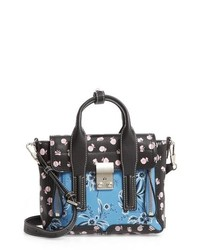 3.1 Phillip Lim Mini Pashli Floral Leather Satchel