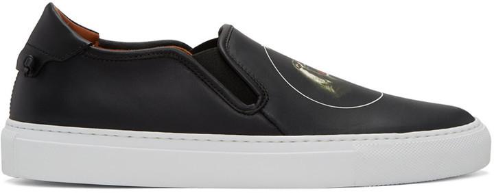 Black On Street Skate Slip Sneakers Monkey Brothers Iii Givenchy iOukXZP