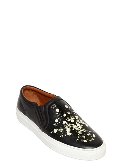 Givenchy Skate Leather Slip-On Sneakers low price for sale cheap sale recommend outlet locations online shopping online cheap price amazing price cheap price PumJB