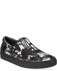 Hugo Fuslip Palm Printed Sneakers