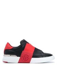 Philipp Plein Phanton Kicks Contrast Panel Sneakers