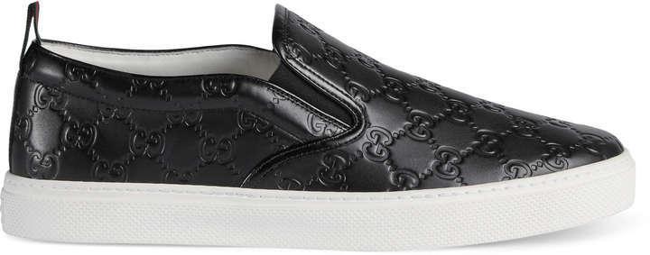 64d02251b7f5 ... Gucci Signature Slip On Sneaker ...