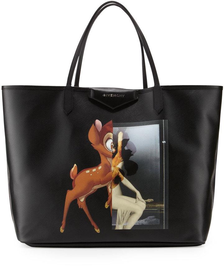 Givenchy Antigona Large Shopping Tote Bambi Print,  1,225   Bergdorf ... 162db056f6