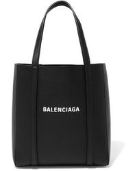 Balenciaga Everyday Mini Printed Textured Leather Tote