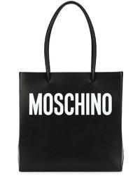 Moschino Logo Print Square Tote