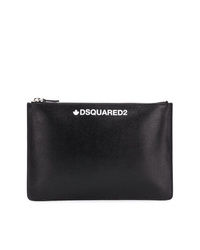 DSQUARED2 Logo Embossed Clutch Bag